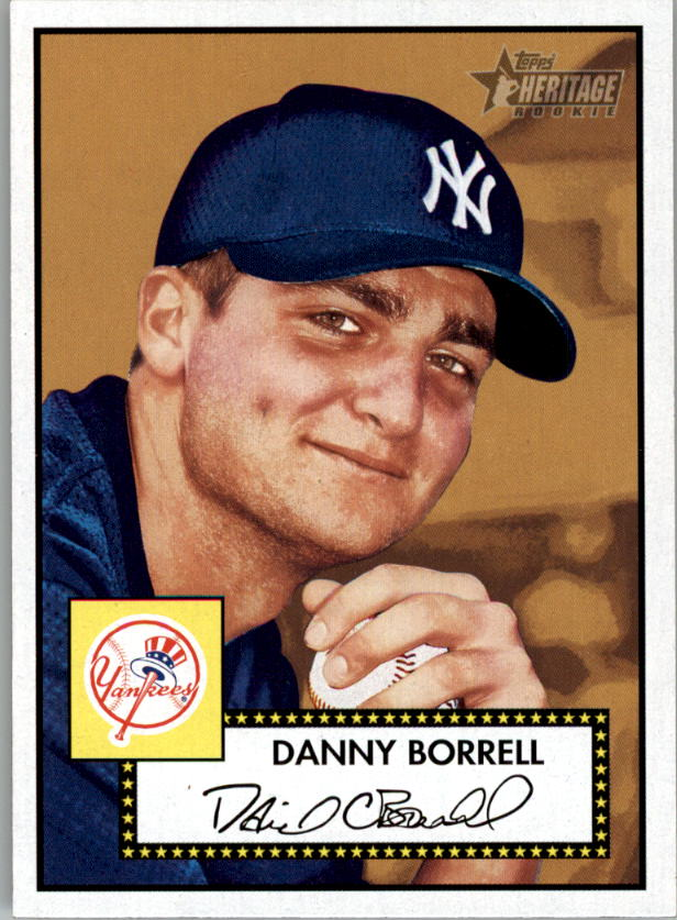 2001 Topps Heritage #174 Danny Borrell RC