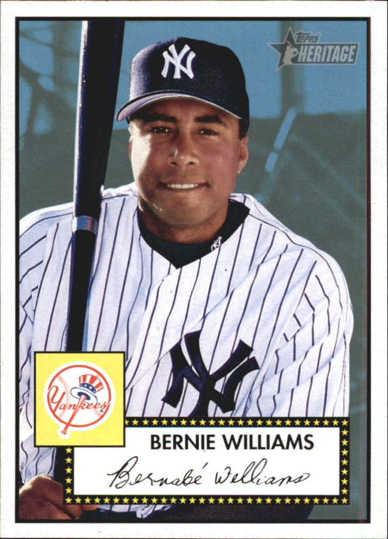 2001 Topps Heritage #216 Bernie Williams