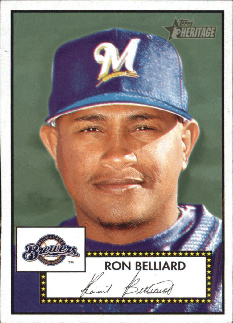 2001 Topps Heritage #227 Ron Belliard