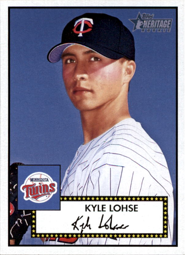 2001 Topps Heritage #250 Kyle Lohse RC