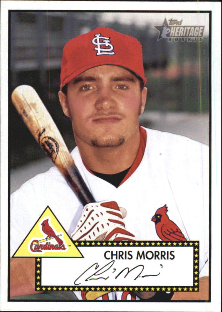 2001 Topps Heritage #264 Chris Morris RC