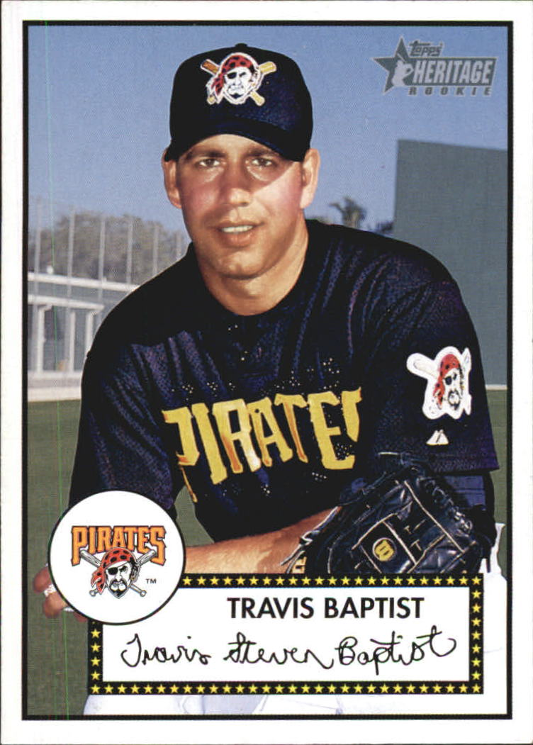 2001 Topps Heritage #302 Travis Baptist RC