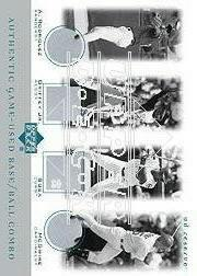 2001 UD Reserve Ball-Base Quads #SGRM A-Rod/Grif/Sosa/Mac