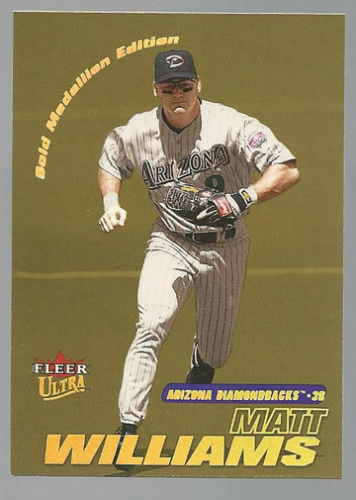 2001 Ultra Gold Medallion #27 Matt Williams