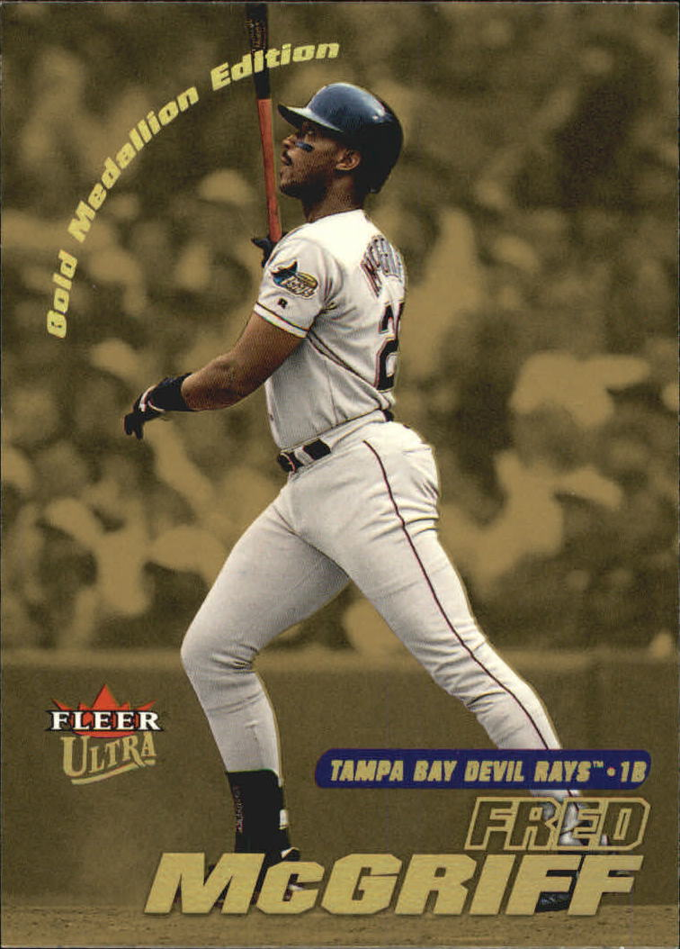 2001 Ultra Gold Medallion #110 Fred McGriff