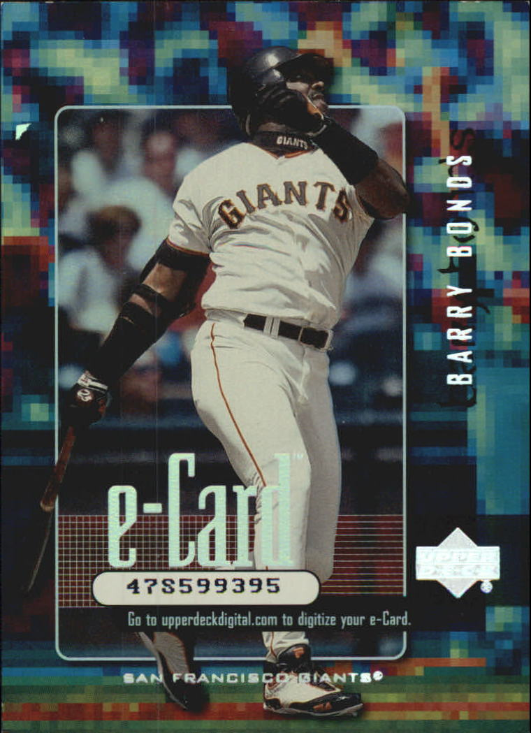 2001 Upper Deck e-Card #E6 Barry Bonds