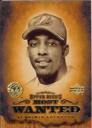 2001 Upper Deck UD's Most Wanted #MW7 Vladimir Guerrero