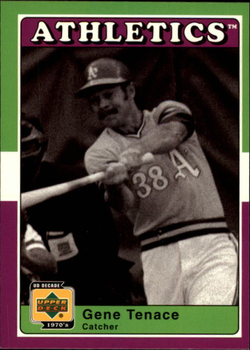 2001 Upper Deck Decade 1970's #6 Gene Tenace