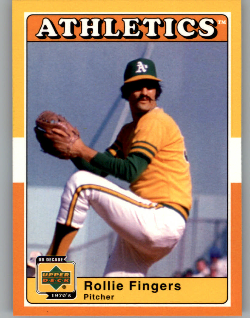 2001 Upper Deck Decade 1970's #7 Rollie Fingers front image