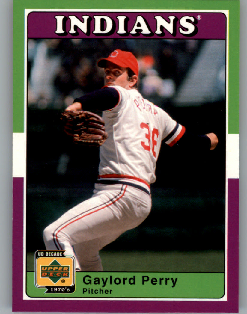 2001 Upper Deck Decade 1970's #12 Gaylord Perry