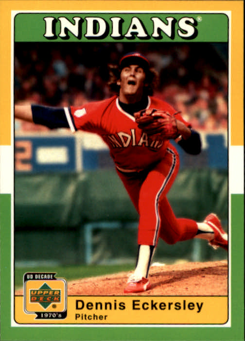2001 Upper Deck Decade 1970's #15 Dennis Eckersley