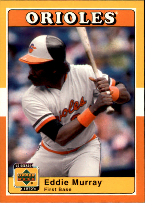2001 Upper Deck Decade 1970's #19 Eddie Murray