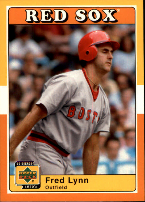 2001 Upper Deck Decade 1970's #25 Fred Lynn