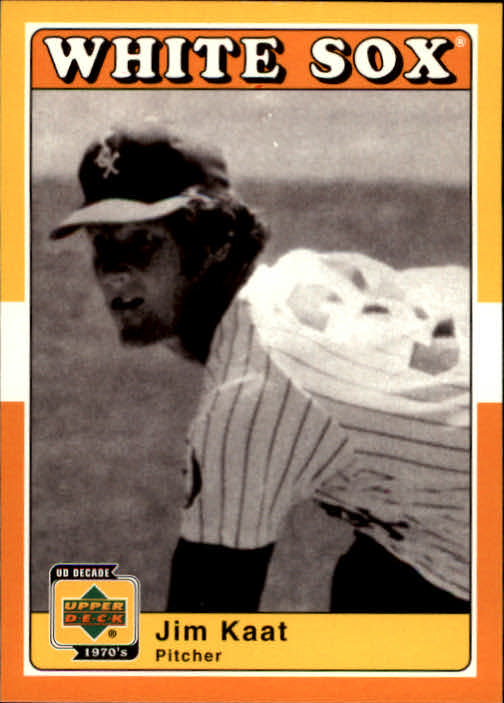 2001 Upper Deck Decade 1970's #37 Jim Kaat