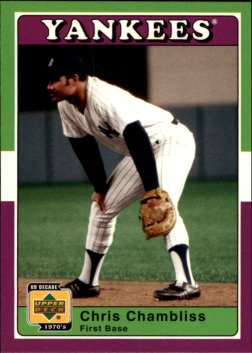 2001 Upper Deck Decade 1970's #42 Chris Chambliss