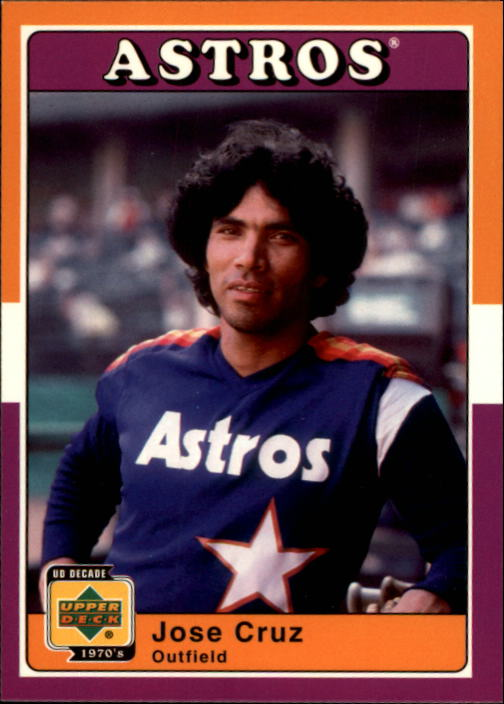 2001 Upper Deck Decade 1970's #45 Jose Cruz