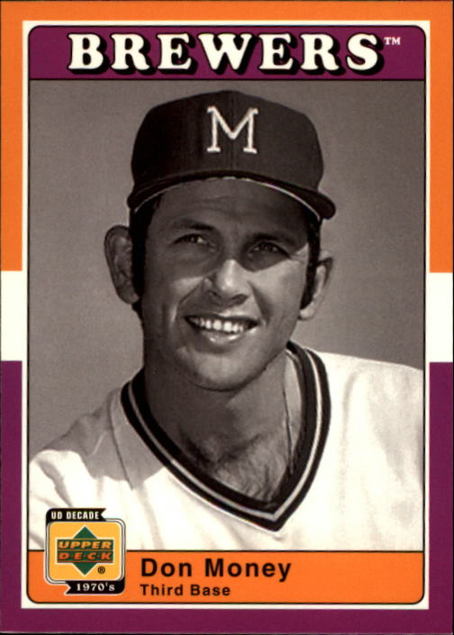 2001 Upper Deck Decade 1970's #51 Don Money