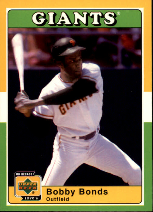 2001 Upper Deck Decade 1970's #70 Bobby Bonds
