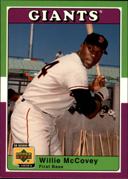2001 Upper Deck Decade 1970's #72 Willie McCovey
