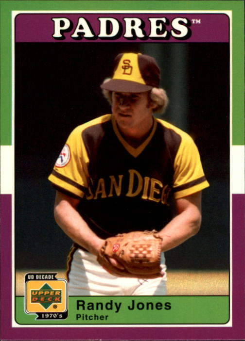 2001 Upper Deck Decade 1970's #78 Randy Jones