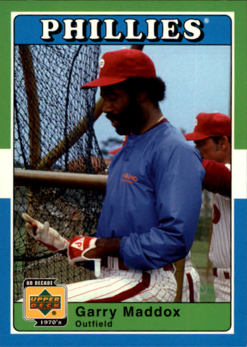 2001 Upper Deck Decade 1970's #80 Garry Maddox
