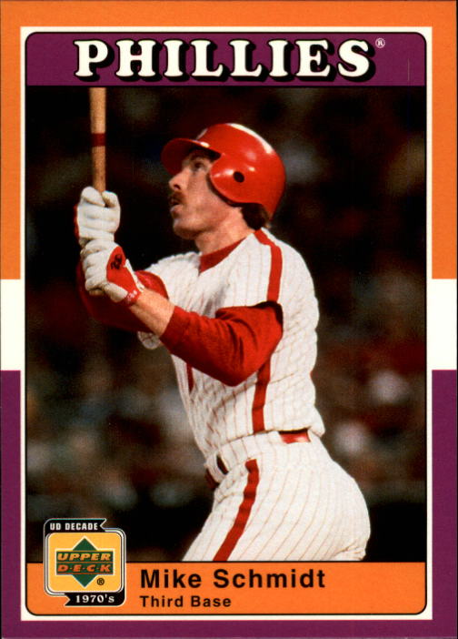 2001 Upper Deck Decade 1970's #81 Mike Schmidt front image