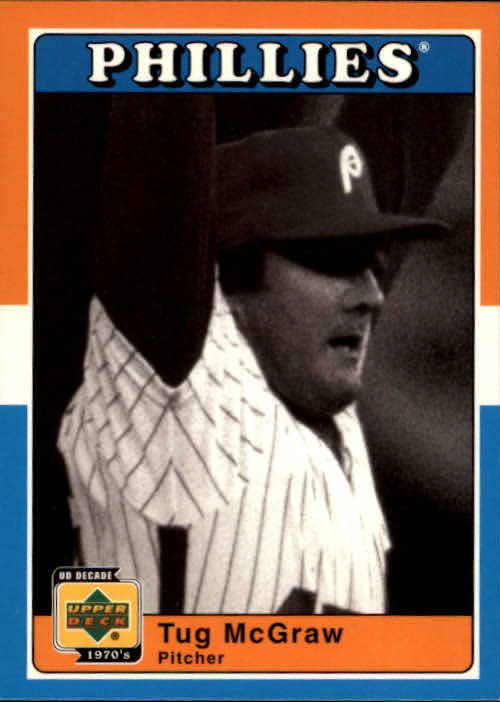 2001 Upper Deck Decade 1970's #83 Tug McGraw