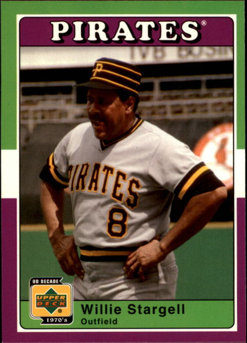 2001 Upper Deck Decade 1970's #84 Willie Stargell