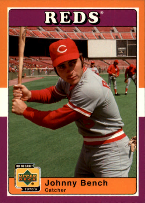 2001 Upper Deck Decade 1970's #87 Johnny Bench