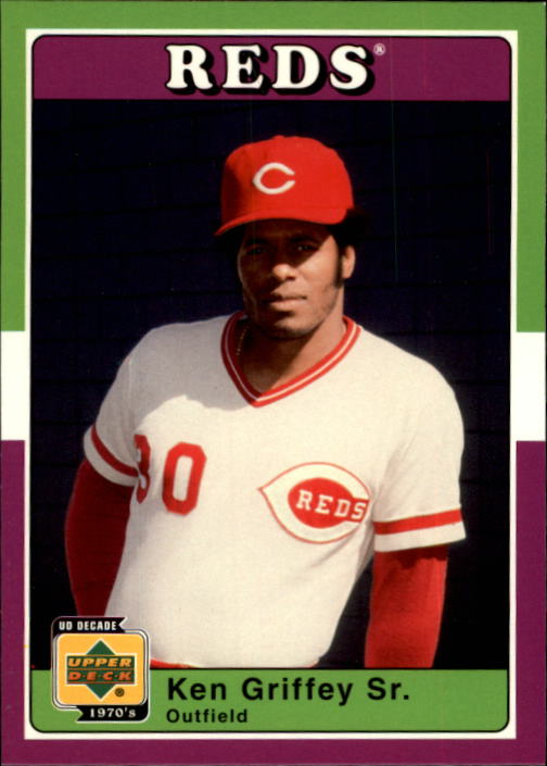 2001 Upper Deck Decade 1970's #90 Ken Griffey Sr.