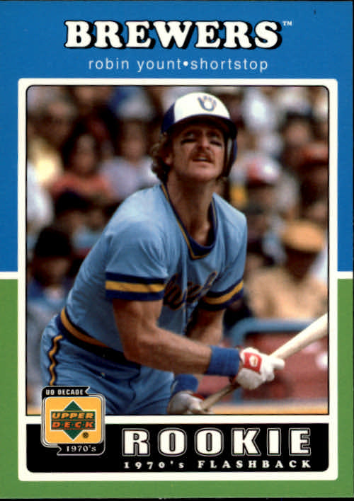 2001 Upper Deck Decade 1970's #98 Robin Yount RF