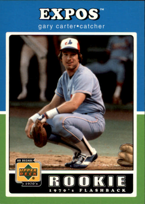 2001 Upper Deck Decade 1970's #100 Gary Carter RF