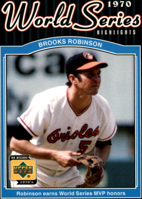 2001 Upper Deck Decade 1970's #171 Brooks Robinson WS front image