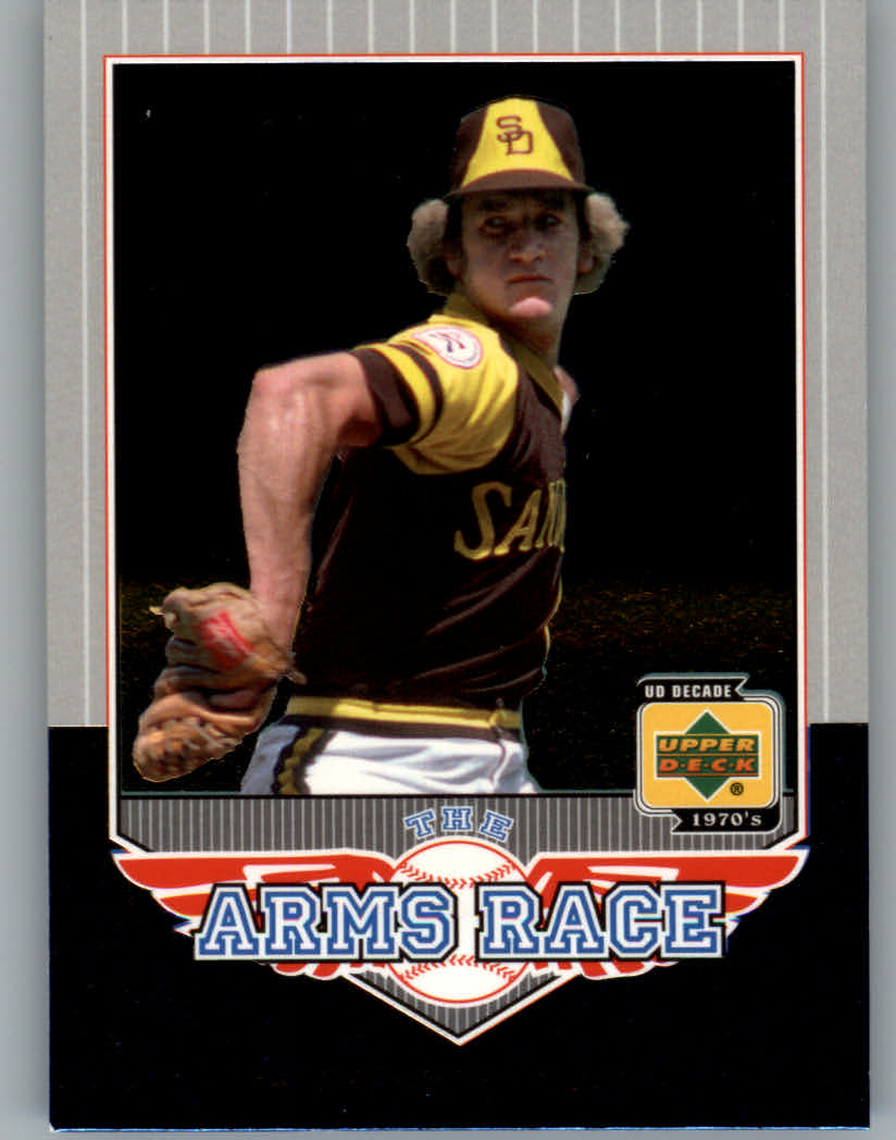 2001 Upper Deck Decade 1970's Arms Race #AR5 Randy Jones