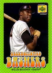 2001 Upper Deck Decade 1970's Bellbottomed Bashers #BB3 Willie McCovey