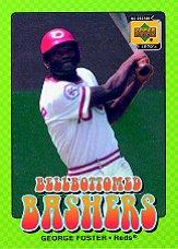 2001 Upper Deck Decade 1970's Bellbottomed Bashers #BB6 George Foster