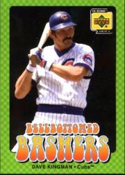 2001 Upper Deck Decade 1970's Bellbottomed Bashers #BB8 Dave Kingman front image