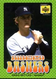 2001 Upper Deck Decade 1970's Bellbottomed Bashers #BB9 Graig Nettles