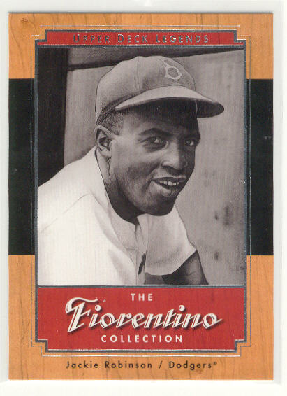 2001 Upper Deck Legends Fiorentino Collection #F8 Jackie Robinson