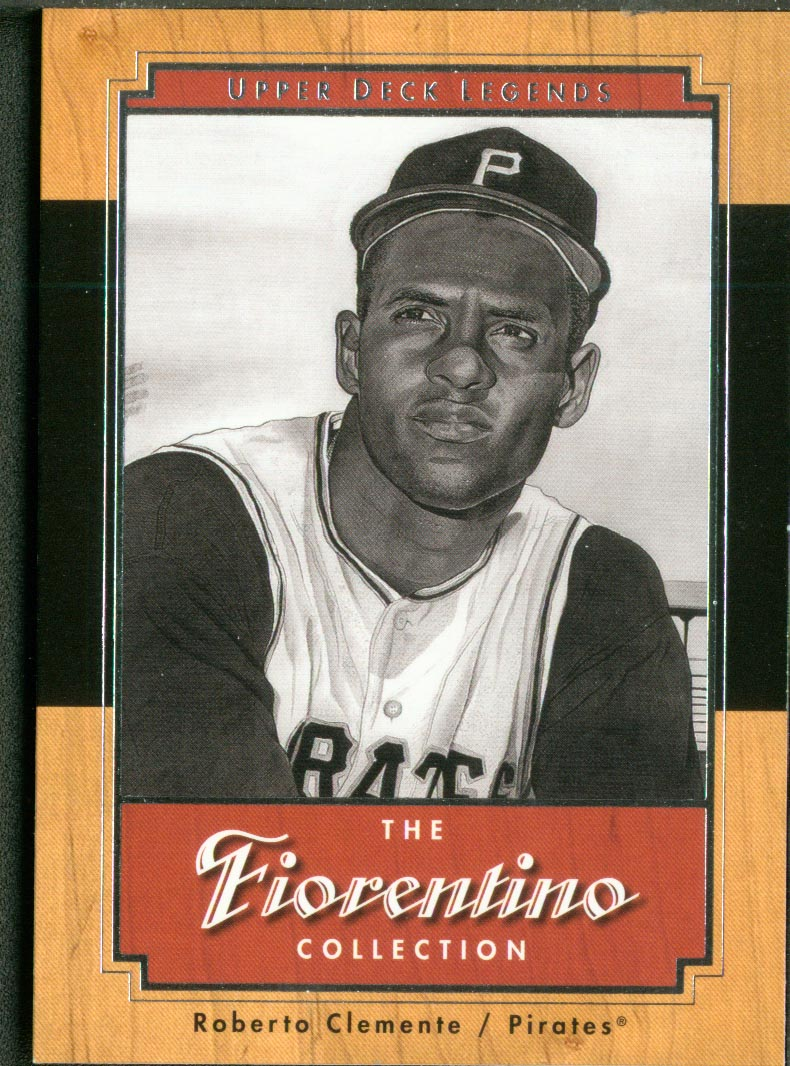 2001 Upper Deck Legends Fiorentino Collection #F10 Roberto Clemente front image