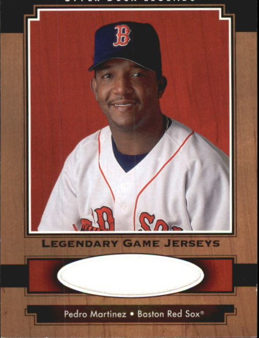 2001 Upper Deck Legends Legendary Game Jersey #JPM Pedro Martinez