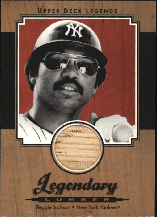 2001 Upper Deck Legends Legendary Lumber #LRJ Reggie Jackson