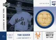 2001 Upper Deck Legends of NY Game Bat #LMBTS Tom Seaver
