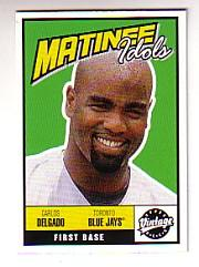 2001 Upper Deck Vintage Matinee Idols #M12 Carlos Delgado