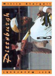 2001 Sunoco Dream Team #1 W.Stargell/B.Mazeroski front image