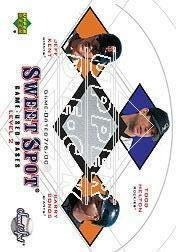 2001 Sweet Spot Game Base Trios #BHK Barry Bonds/Todd Helton/Jeff Kent