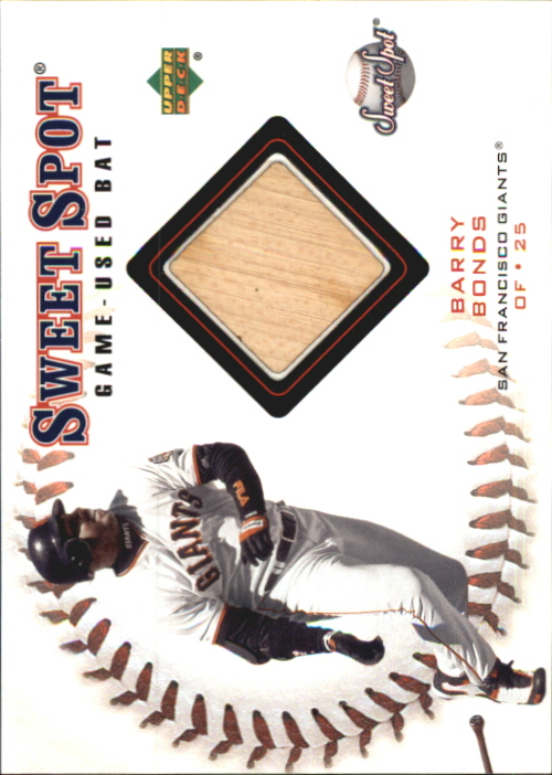 2001 Sweet Spot Game Bat #BBB Barry Bonds