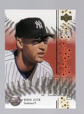 2001 Sweet Spot Players Party #PP1 Derek Jeter