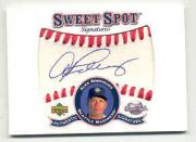 2001 Sweet Spot Signatures #SAR Alex Rodriguez SP/154