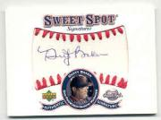 2001 Sweet Spot Signatures #SDB Dusty Baker